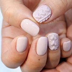 Valentines Day Nails pastel-lilac-sweater-nails-with-hearts