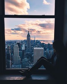New York City Feelings - In Love with that View by @parkavenueprincess#nyc