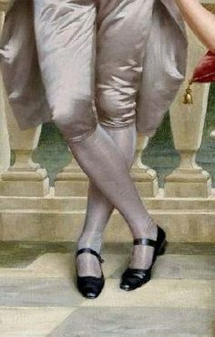 The Flirtation (detail), by Vittorio Reggianini (Italian, Detailed Paintings, Great Paintings, Historical Costume, Historical Dress, Fairy Tail Art, Renaissance, Detail Art, Shoe Art, Man Photo