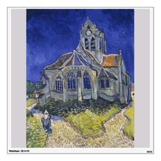 Church in Auvers-sur-Oise by Vincent Van Gogh Wall Decor