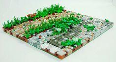 how to make lego terrain - Google Search