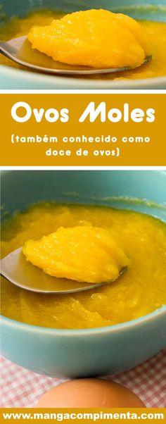 New Recipes, Dinner Recipes, Dessert Recipes, Cooking Recipes, Mole Recipe, Keep Recipe, Portuguese Recipes, Foods To Eat, Sweet Bread