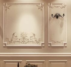 Classic House Interior Design, Classic Interior Design, Classic Interior Design Living Room, Ceiling Decor, Classic Interior Design Luxury, Ceiling Design, Modern Wall Decor, Wall Molding Living Room, Wall Design