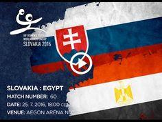 SLOVAKIA : EGYPT Bratislava, World Championship, Egypt, Youth, Argentina, Handball, World Cup, Young Adults, Teenagers