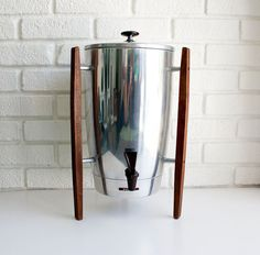 Etsy: vintage 40-cup coffee urn. I want to plan a brunch party just for an excuse to  buy this beauty