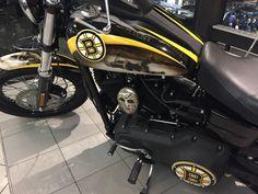Bruins Harley Davidson Street Bob