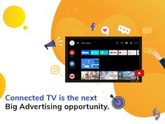 Connected TV combines the quality user-experience of television with the data-informed approach of digital advertising. You can target audiences with pinpoint accuracy, extend your campaign from the display and social to TV screen, and track the metrics that are important to your business. Want to know more? Contact our digital marketing experts at +1 (609) 945-4955. #ConnectedTV #digitaladvertising #sourcesoft Competitor Analysis, Target Audience, Digital Marketing Services, User Experience, Connection, Campaign, Track, Advertising, Display