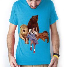 Fab.com | Lion Tiger Bear Tee Men's