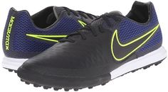 Control the pace of the game when you dominate in the Nike Magistrax Finale TF soccer shoe!