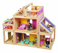 Maxim's modular doll house - take it apart, put it together 9 ways.