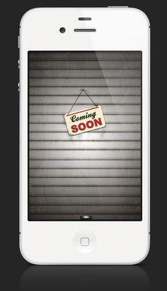 Coming Soon shutter   Designer: Fabio Basile