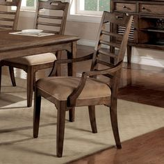 Have to have it. Newberry Upholstered Dining Arm Chairs - Set of 2 $439.99