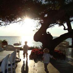 Porto sani, greece Greece, Heaven, Spaces, Celestial, Sunset, Eyes, Outdoor, Porto, Greece Country
