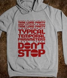 Time Lord Party - Red