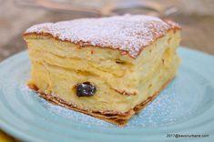 placinta cu iaurt savori urbane Romanian Food, Romanian Recipes, Strudel, Cheesecake, Baking, Breakfast, Ethnic Recipes, Pastries, Cakes