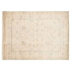 Check out this item at One Kings Lane! 8'11x12' Payson Oushak Rug, Beige