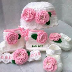 Baby Bonnets, Bootie Sandals, Diy Hat, Crochet Shoes, Baby Hats, Crochet Baby, Pink White, Headbands, Elsa