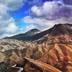 Atlas Mountains. Photo taken by @just_in_the_nikk_of_time on Instagram