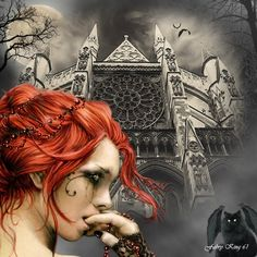 victoria frances art | VICTORIA FRANCES - GOTHIC NIGHT by ~FABRYKING61 on deviantART