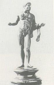 Lake of Idols bronze statues