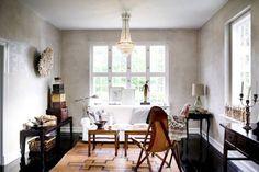 living room eclectic