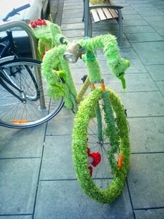 vélo touffu
