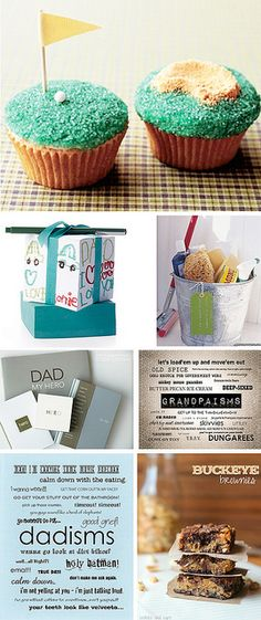 COLLAGE of Father's Day Gift Ideas...