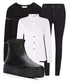 """""""Untitled #3"""" by tessa-effy-parker on Polyvore featuring Zara, Cheap Monday, Part Two and Opening Ceremony"""