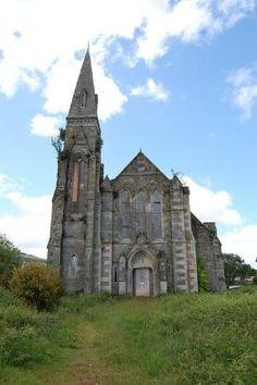 Abandoned St George's Church. Lamlash, Isle of Arran, Scotland. by cristina