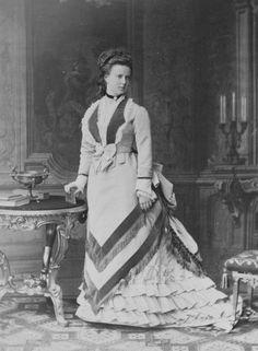 Grand Duchess Maria Alexandrovna Romanova of Russia in 1873.A♥W