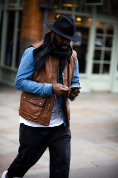 The best-dressed men on the streets of London for the Autumn Winter 2017 women's shows