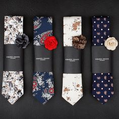 "17.8k Likes, 434 Comments - High Fashion Men (@highfashionmen) on Instagram: ""These ties and pins from @Grandfrank.com are true must haves this season! Visit www.Grandfrank.com…"""