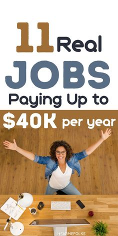 Good paying jobs without a degree. Here is a list of 11 good paying jobs that pay at least $40K a year. Additionally, I have included the experience level and academic qualifications required for each job. Perfect career advice if you're looking to get hired. Earn Extra Money Online, Earn Extra Income, Earn Extra Cash, Making Extra Cash, Earn From Home, Make Money From Home, Way To Make Money, Jobs Without A Degree, Good Paying Jobs