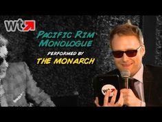 The Monarch (Jackson Publick) Performs Pacific Rim Apocalypse Speech (Comic-Con 2013) - YouTube