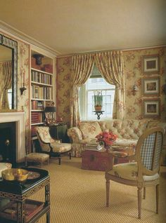 English Country Cottage Living Room -2 English Country Cottage Decor Living Rooms