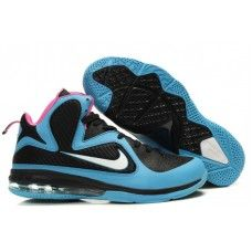 Unmatched quality sneakers!Nike Lebron 9 Blue Varsity Black