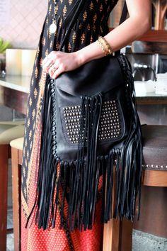 Slmcfadin Fringe Bag Purse Bags Leather Halter Diva