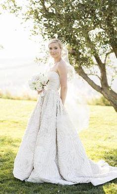 Amsale dahlia wedding dress used chicago