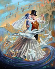 DANCE WITH THE WIND II BY MICHAEL CHEVAL
