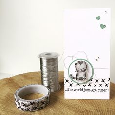 Bij Margriet Creatief; Stampin' Up!, SU, Made with Love, Everyday Chic Washi Tape