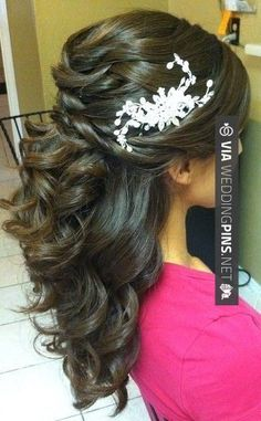 Like this! -  | CHECK OUT MORE FANTASTIC SHOTS OF NEW Wedding Hairstyles 2017 OVER AT WEDDINGPINS.NET | #weddinghairstyles2017 #weddinghairstyles #weddinghair #2017 #weddingthemes #themes #weddings #boda #weddingphotos #weddingpictures #weddingphotography #brides #grooms