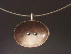 4-307 Bronze choker by baharal + gnida
