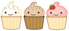 images of animated cupcakes - Google Search