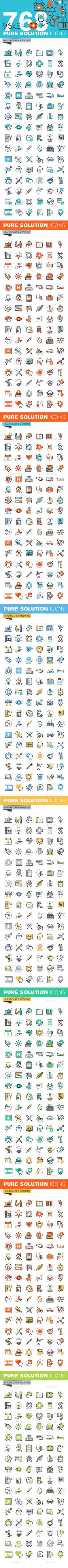 Set of Thin Line Flat Design Icons of Healthcare and Medicine. Download here: http://graphicriver.net/item/set-of-thin-line-flat-design-icons-of-healthcare-and-medicine/14787745?ref=ksioks