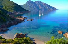 Corsica ferry la baie de girolata