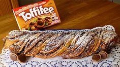Im Toffifee Hefezopf verbirgt sich eine süße Füllung mit cremigem Schoko-Pudding, Haselnüssen und ganz vielen Toffifees. Zum Rezept