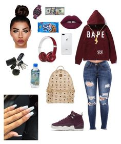 """Untitled #41"" by madisonm15-1 on Polyvore featuring NIKE, Lime Crime, Michael Kors, MCM and Beats by Dr. Dre"