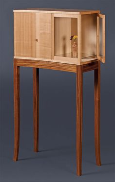 Krenov inspired cabinet on stand