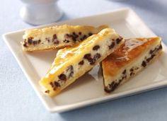 Chocolate Cheesecake Bars - easy crescent roll recipe from Pillsbury