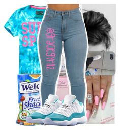 """"""""""" by graciegyrl12 ❤ liked on Polyvore featuring NIKE"""
